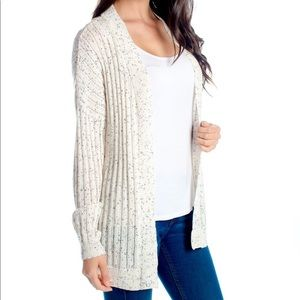 Ivory speckle cardigan